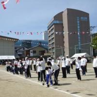 香川県立盲学校体育祭
