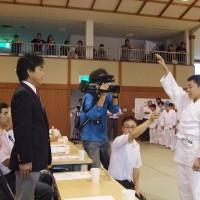 中讃柔道大会選手宣誓