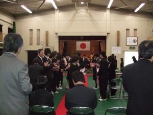 香川県立盲学校の卒業式_1