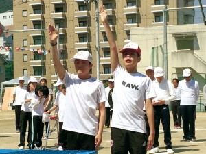 盲学校運動会01